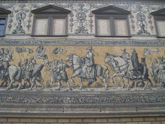 Jahrhunderte von Dresden in Bild