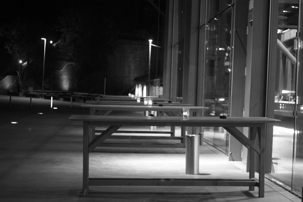 Jahrhunderthalle Bochum verlassen
