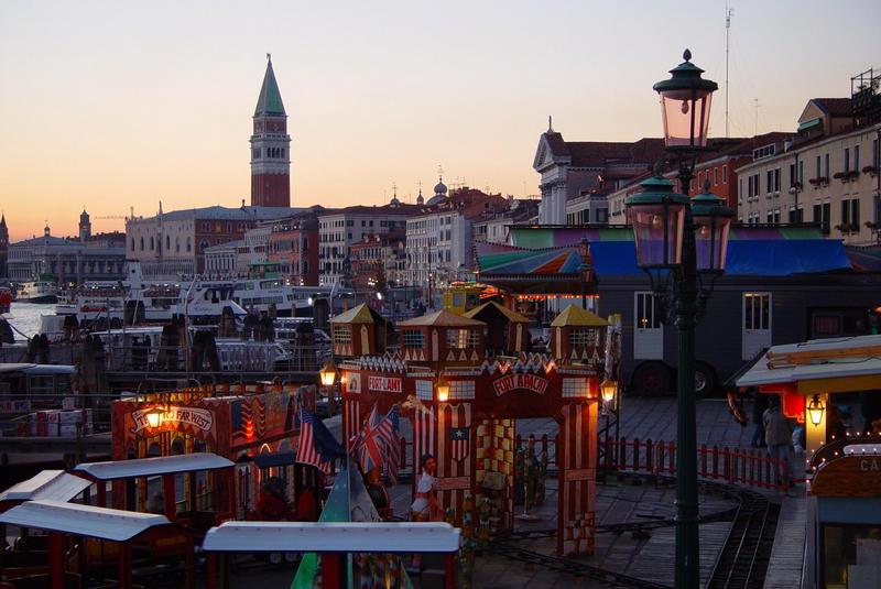 Jahrmarkt in Venedig