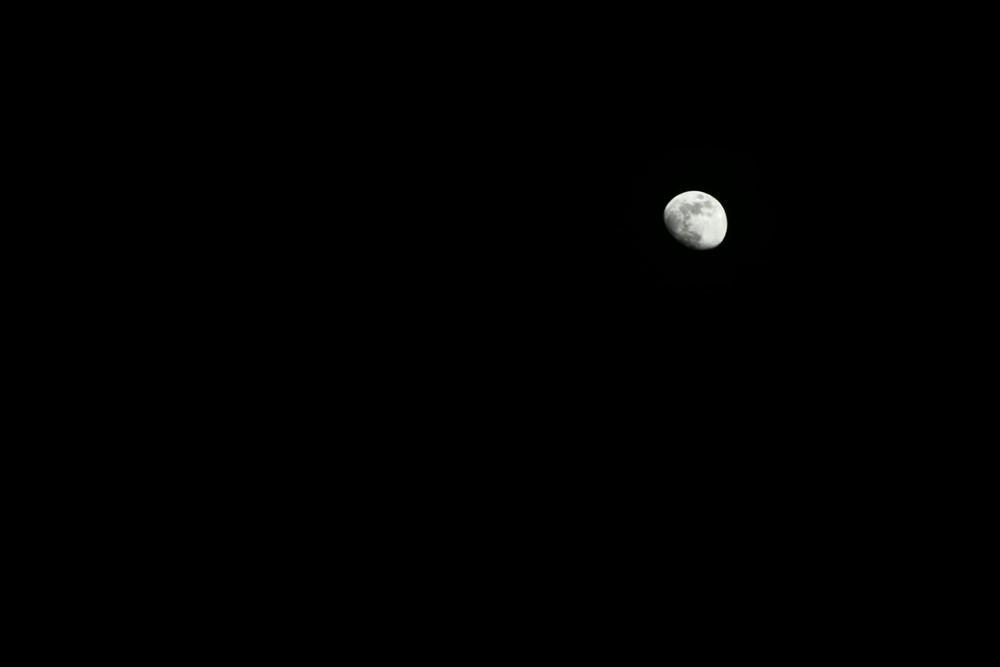 J'ai demandé à la Lune...