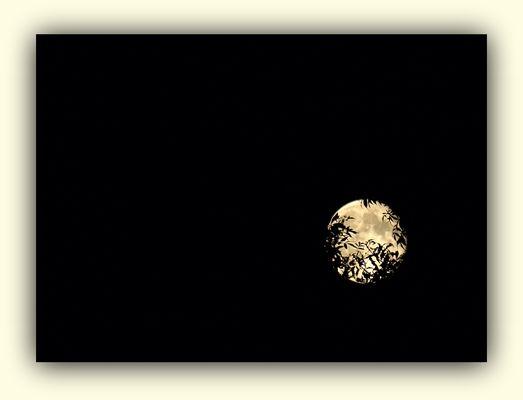 J'ai demandé à la lune….