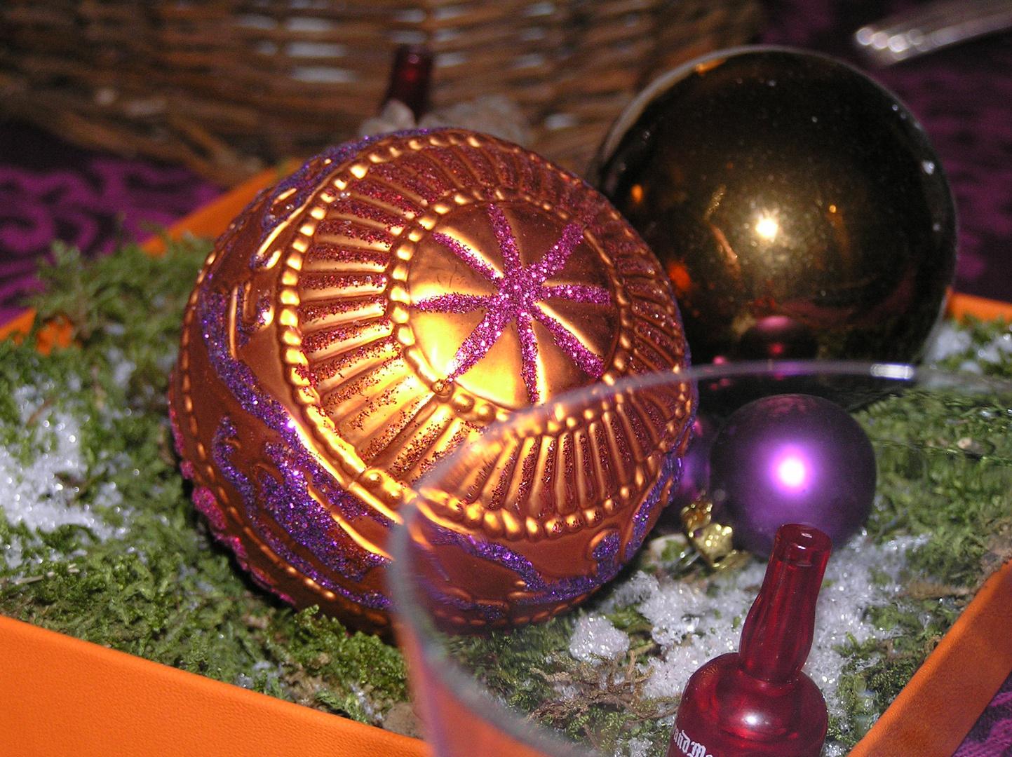 J'ai les boules le père Noël a oublié mon trépieds!!!