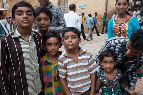 Jaipur - The family