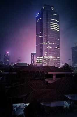 Jakarta la nuit