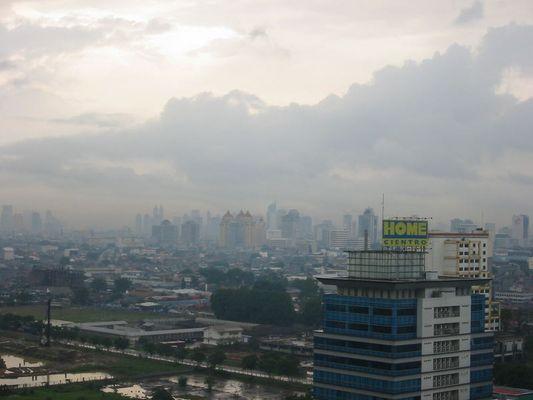 Jakarta nach dem Regen