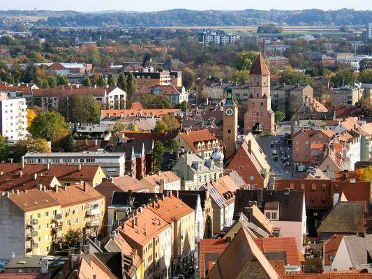 Jakobertor im Osten von Augsburg