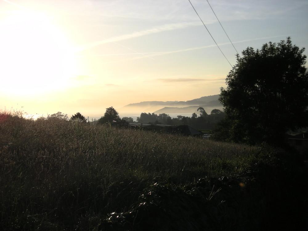 Jakobsweg 07 - Morgen über La Isla
