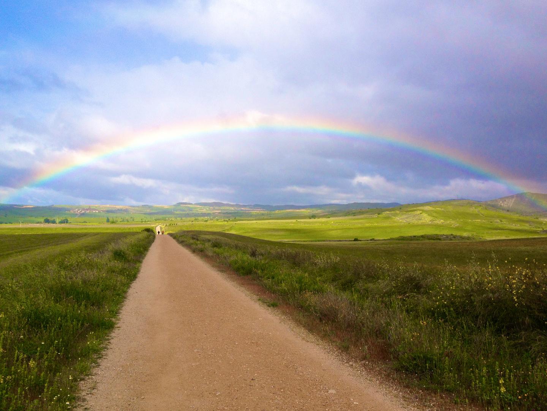 Jakobsweg 10 Regenbogen