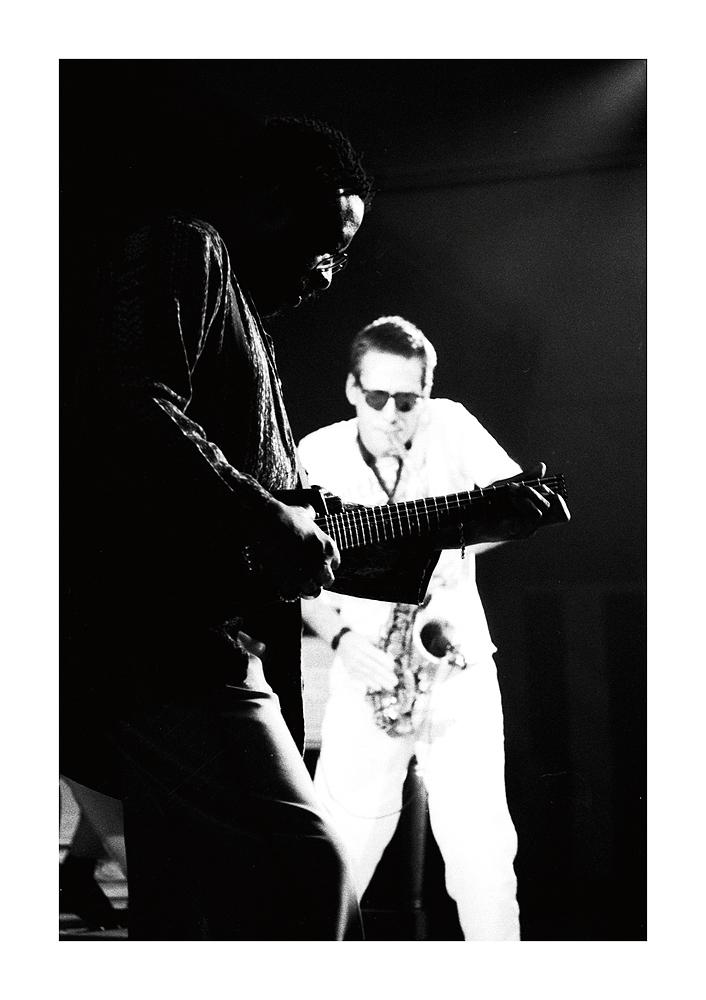 James Blood Ulmer & John Zorn / Jazzfestival Saalfelden 1988