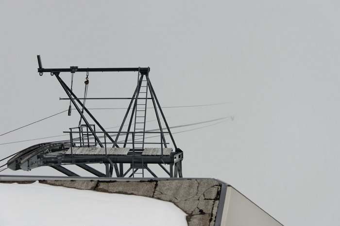 James Bond (Nebel am Schilthorn)