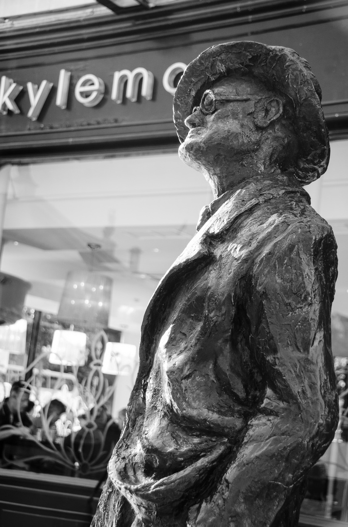 James Joyce Statue - Dublin
