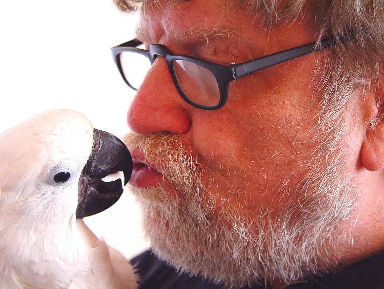Jan und sein Kakadu Goldie