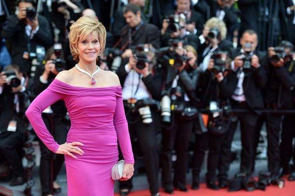 Jane Fonda festival Cannes 2013