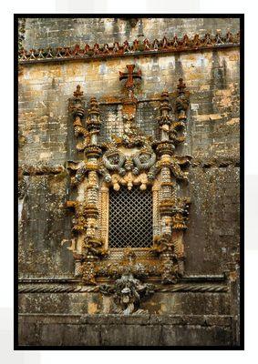Janela Manuelina Convento de Cristo em Tomar
