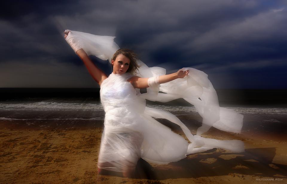 Janine, der Sturm geht,die Front zieht ab