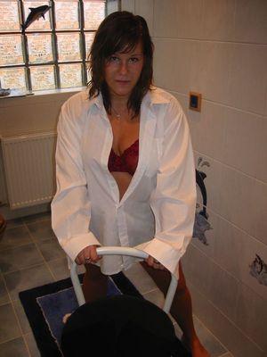 Janine - Weißes Hemd-