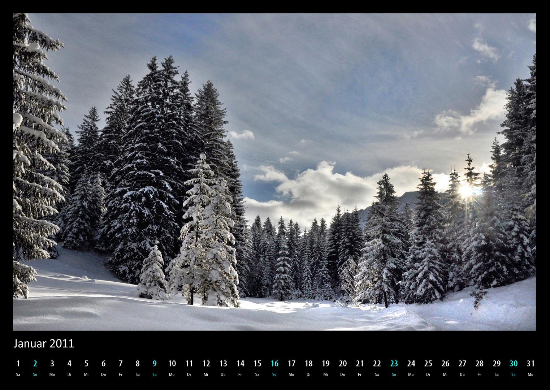 Januar 2011 Landschaft
