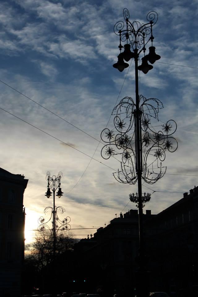 Januar in Budapest