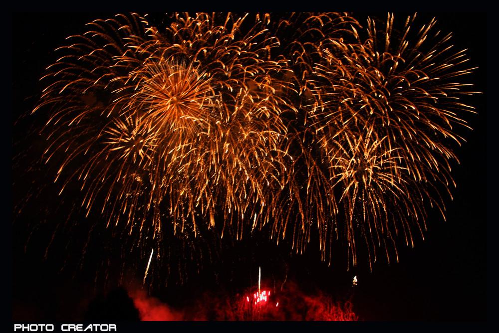 Japan Feuerwerk Düsseldorf 2