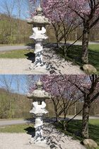 Japan-Stele