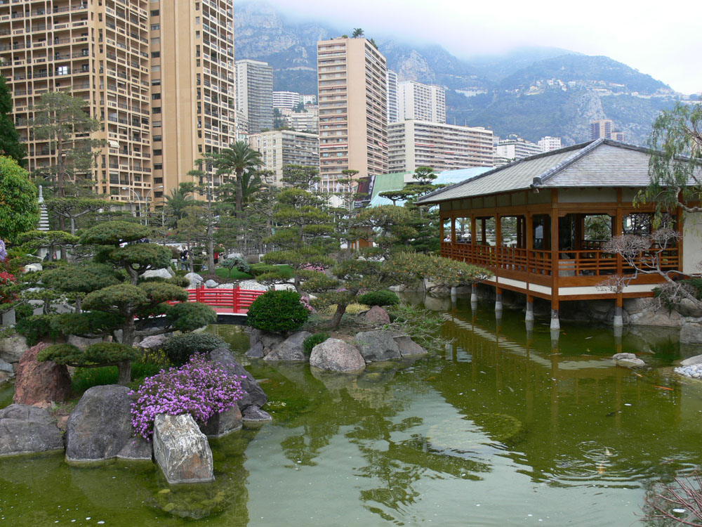 Japanese Garden in Monaco