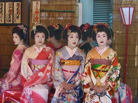 Japanische Frauen