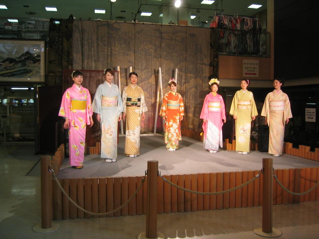 Japanische Modeschau