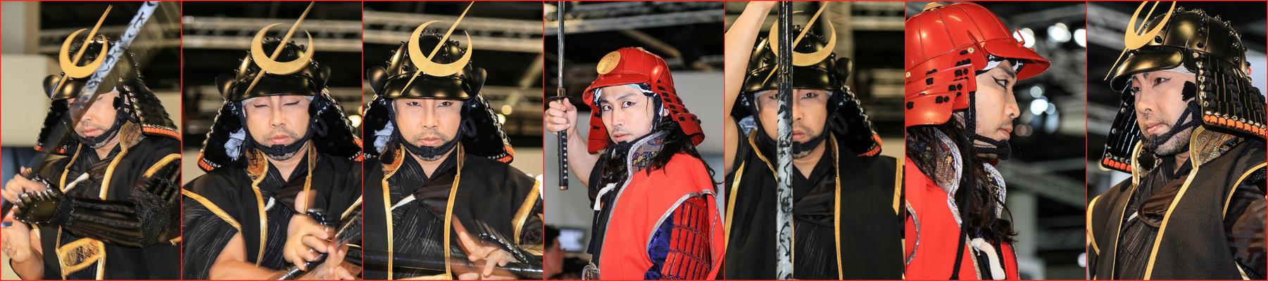 Japanische Schwerttänzer