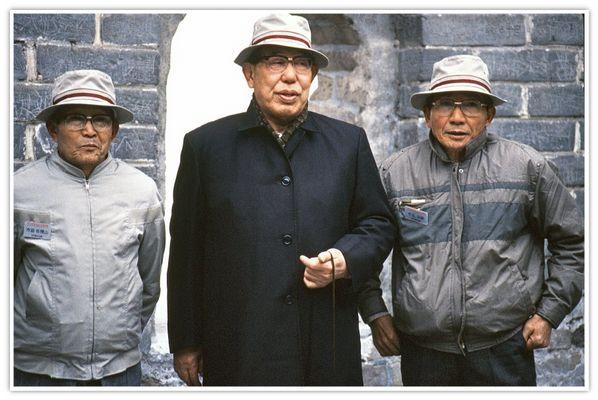 Japanische Touristen auf der grossen Mauer