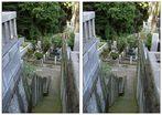 Japanischer Friedhof am Gokokuji-Tempel