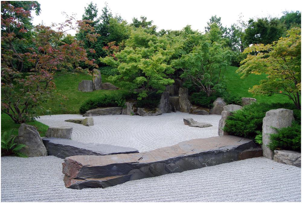 """"""" Japanischer Garten """" ( 1 )"""