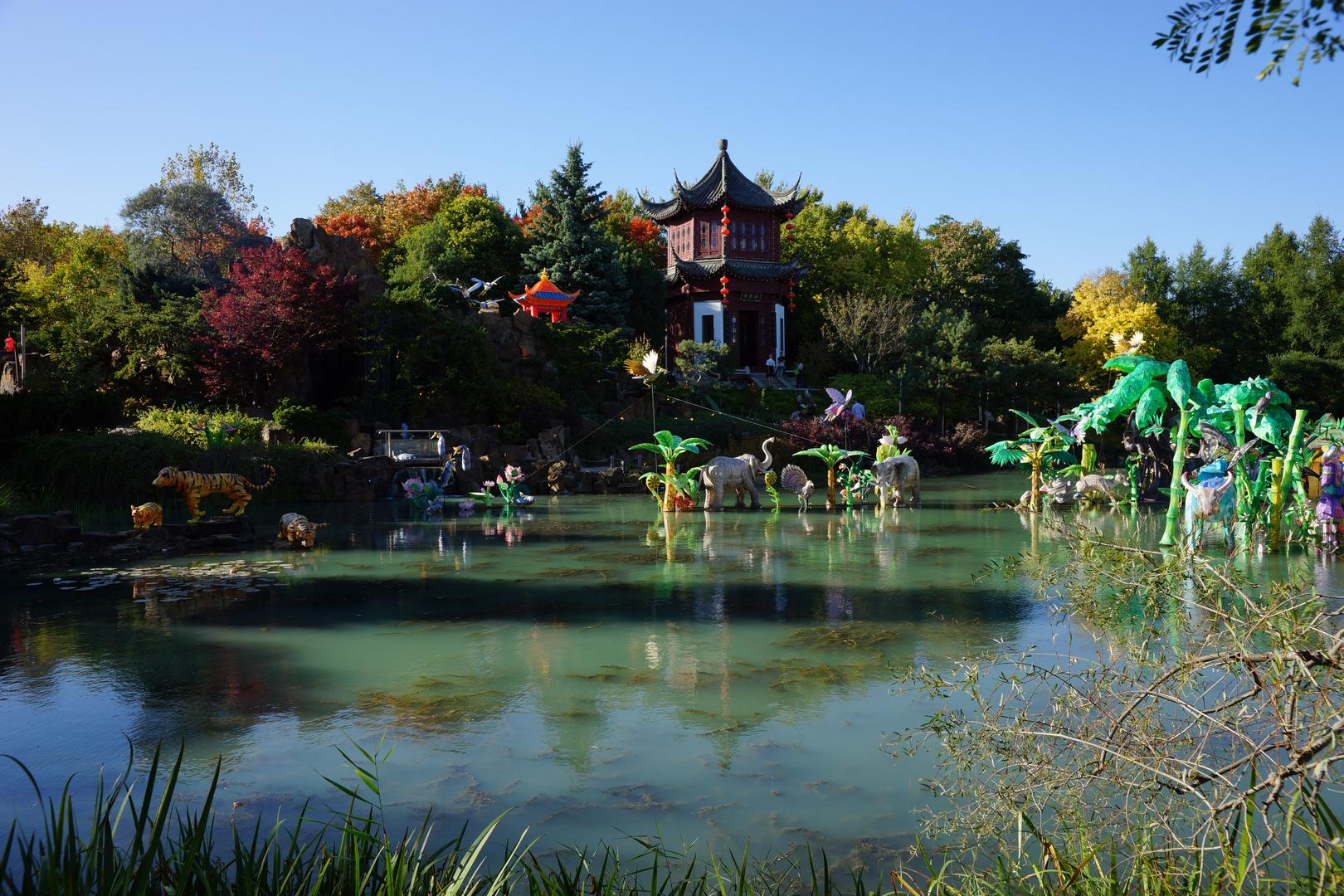 Japanischer Garten im Botanischen Garten Montreal