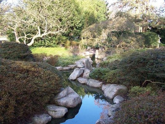 Japanischer Garten im Zoo von Karlsruhe