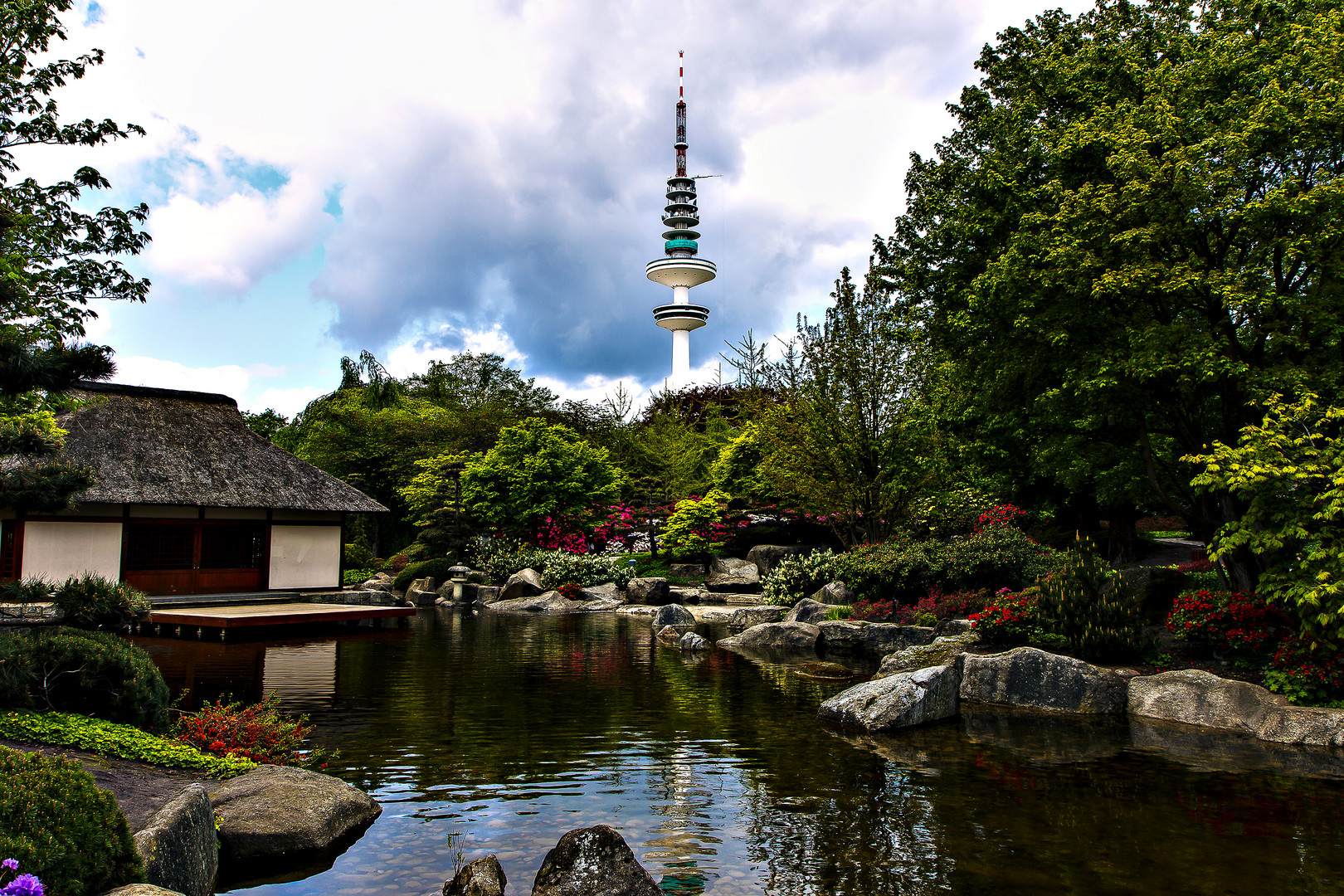 Japanischer Garten in Planten un Bloomen
