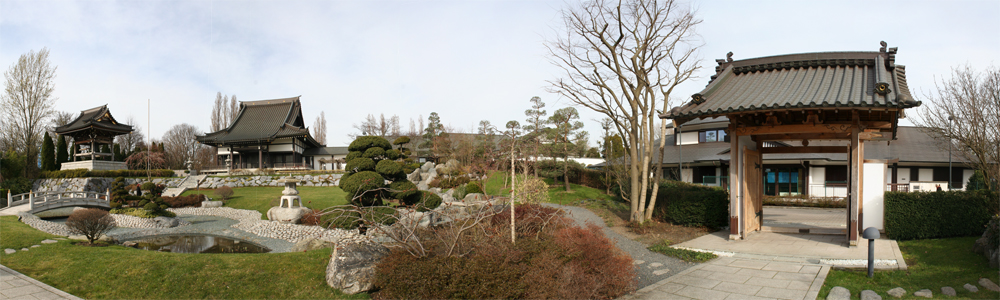 japanischer garten mit eco haus d sseldorf foto bild landschaft garten parklandschaften. Black Bedroom Furniture Sets. Home Design Ideas