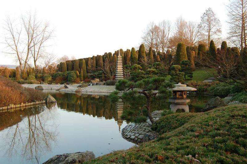 japanischer Garten, Rheinaue Bonn