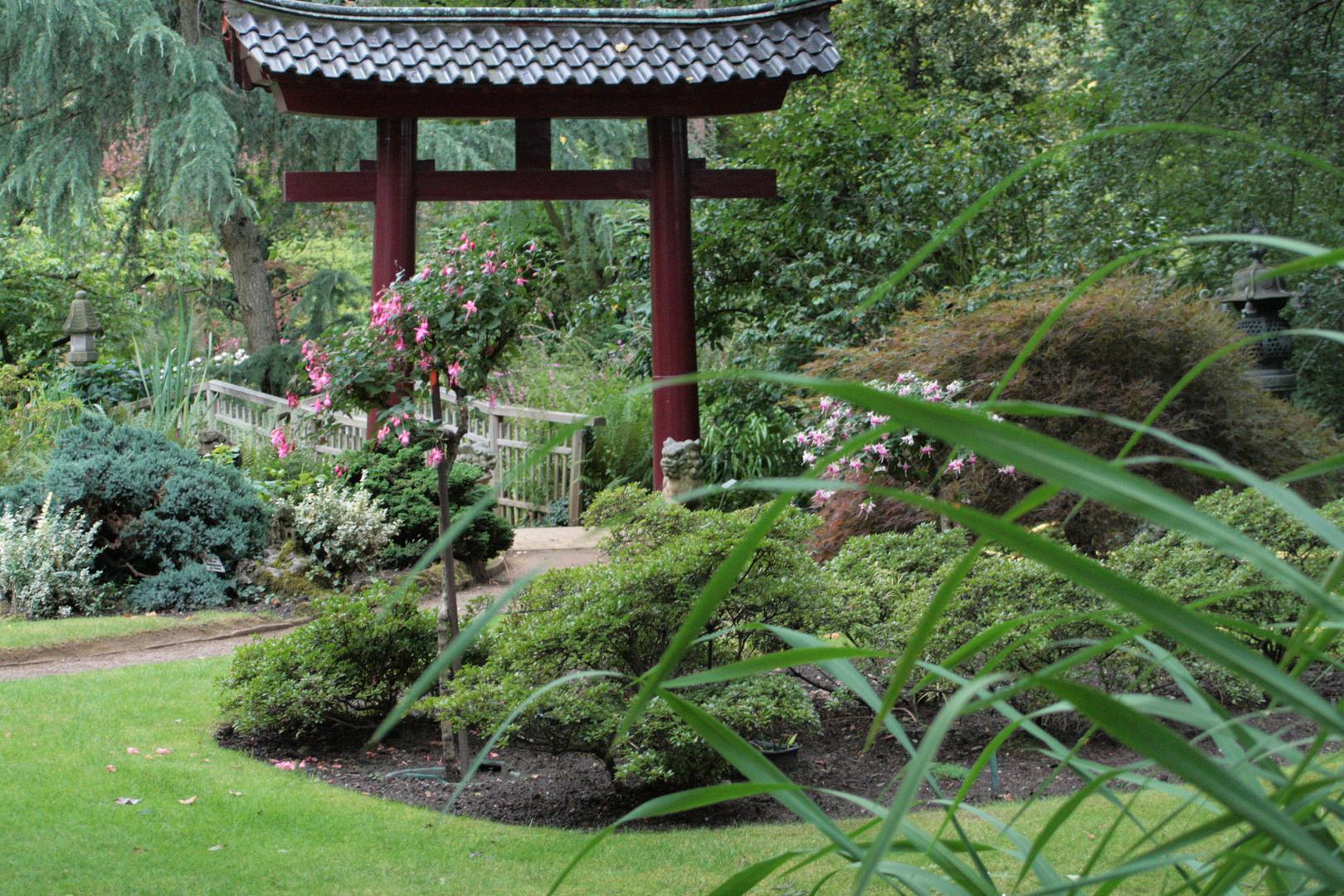 Japanischergarten Eingang
