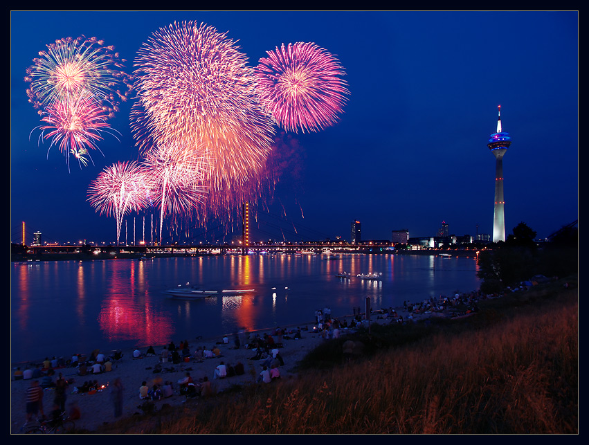 Japanisches Feuerwerk 2005
