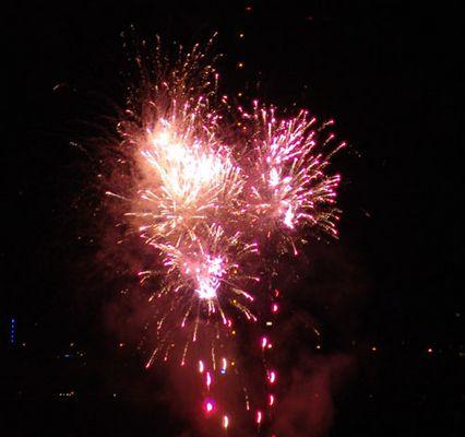Japanisches Feuerwerk Düsseldorf 2004