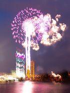 Japanisches Feuerwerk Düsseldorf 2007