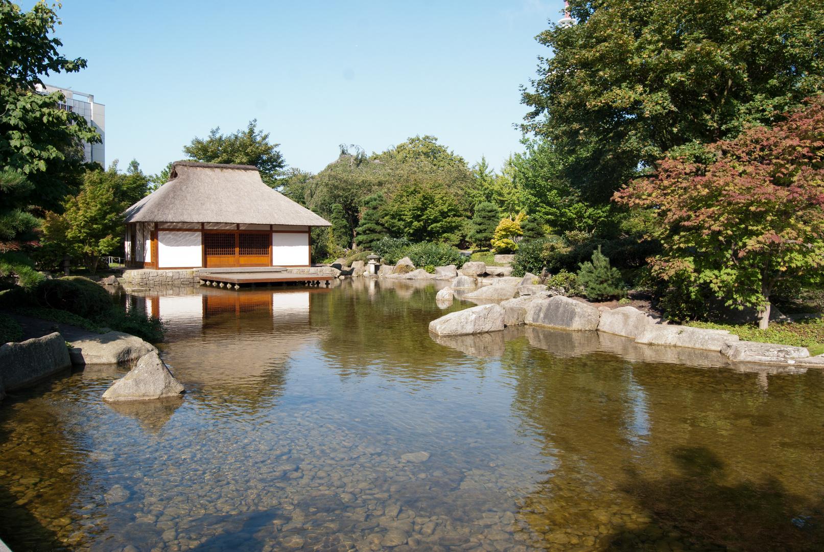 Japanisches Teehaus