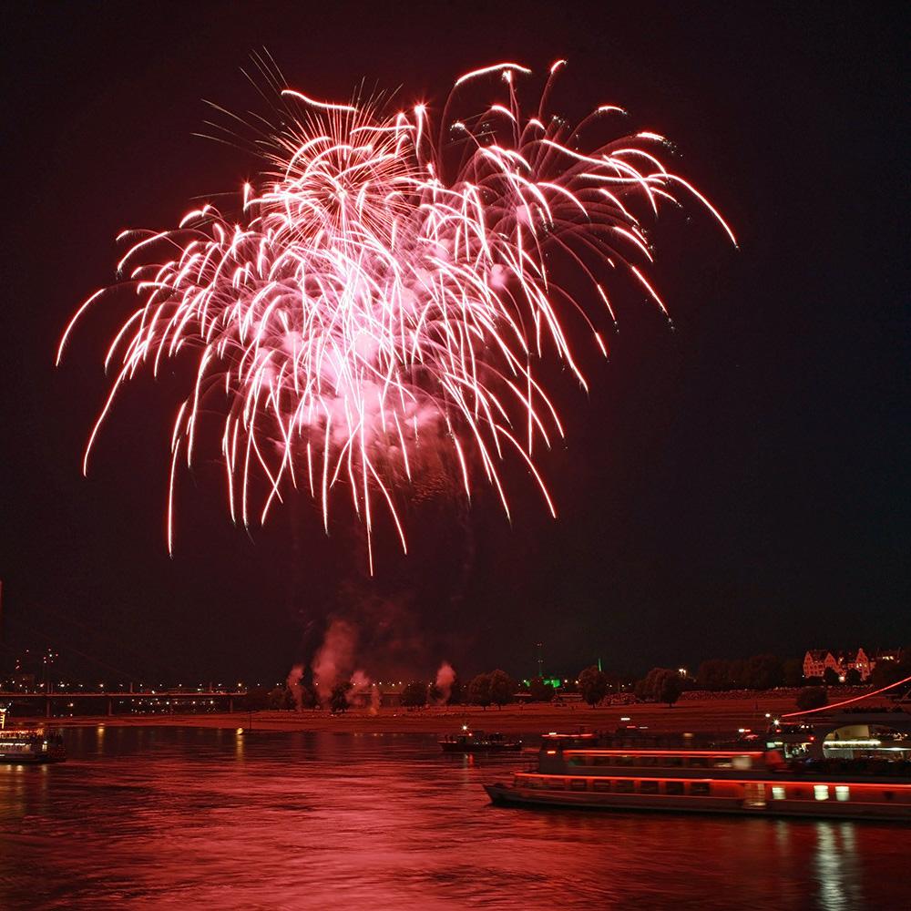 Japantag Düsseldorf 2009 - Feuerwerk 07