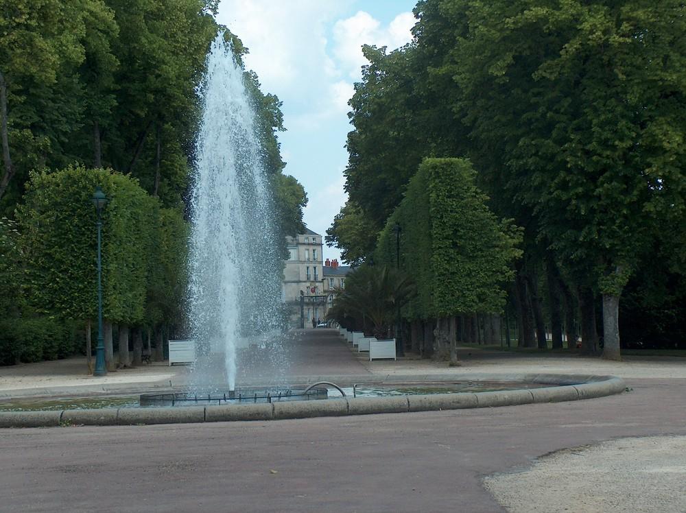 jardin de poitiers en ville
