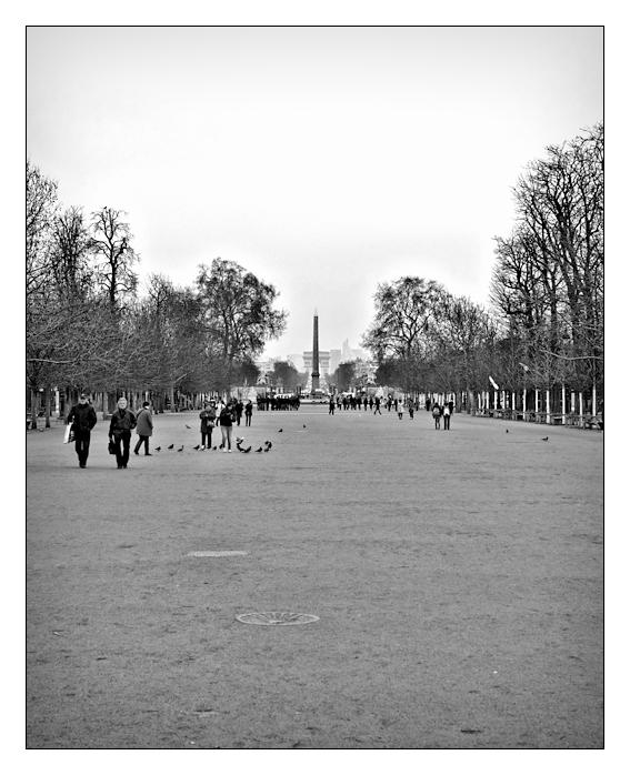 Jardin des Tuileries .II.