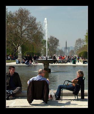 Jardin des Tuileries - Le Grand Carré