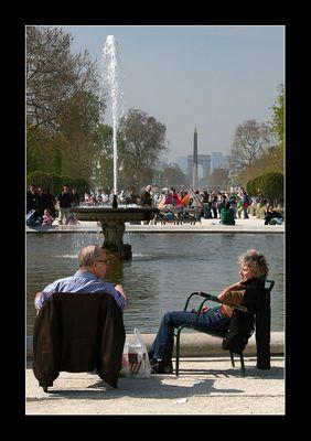 Jardin des Tuileries - Le Grand Carré II