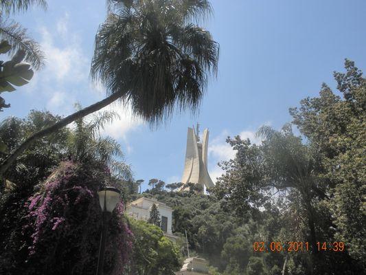 Jardin d'essai du Hamma : ((Algerie))