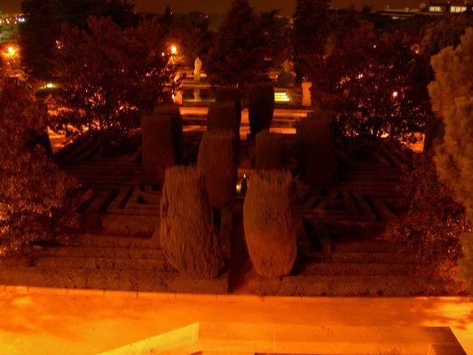 jardin du palais real