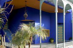 Jardin Majorelle von Yves Saint Laurent in Marrakech 4