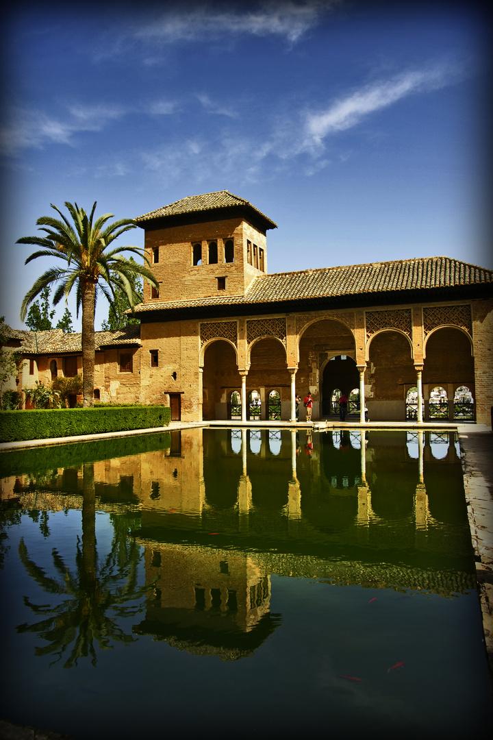 Jardines de la alhambra, Granada